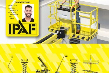 Usposabljanje za varno delo z dvižnimi ploščadmi po mednarodni licenci IPAF